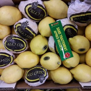 citron jaune-Atlantic primeurs